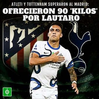 Atleti y Tottenham 90 kilos por Lautaro, 16/09/2021