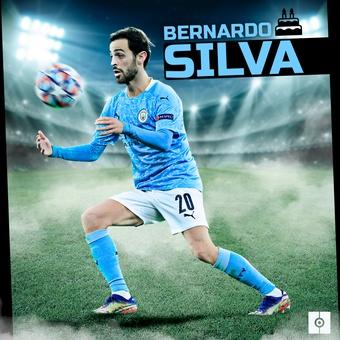 Bernardo Silva 27, 10/08/2021