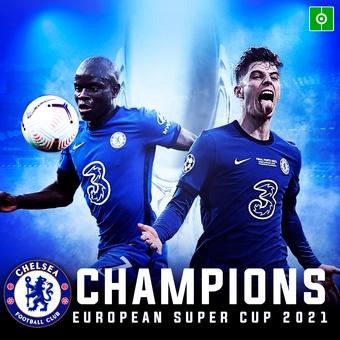 Chelsea, Champions European Super Cup 2021, 12/08/2021