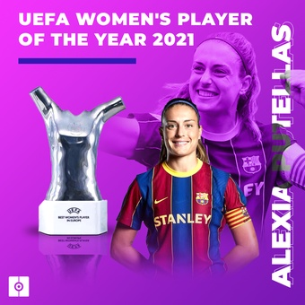 UEFA womens player of the year 2021, 26/08/2021