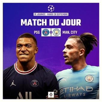 Match du jour J2 Ligue des champions, 28/09/2021
