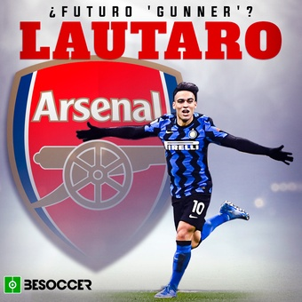 Lautaro, ¿futuro gunner?, 29/07/2021