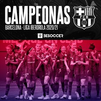Barcelona, campeonas liga iberdrola, 09/05/2021