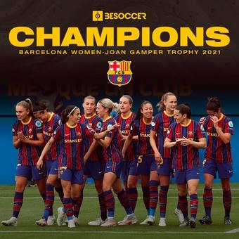 Winners of the Joan Gamper Trophy, 08/08/2021
