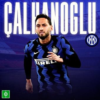 Çalhanoglu, al Inter, 22/06/2021
