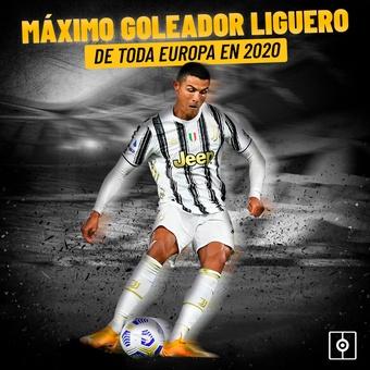 CR7, máximo goleador liguero, 30/09/2021