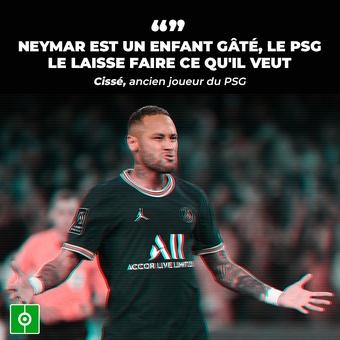Cissé critique Neymar, 03/10/2021