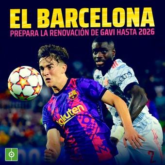 El Barcelona prepara la renovación de Gavi, 05/10/2021