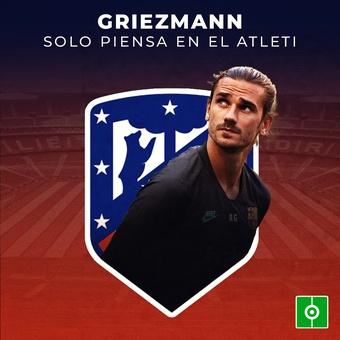 Griezmann solo piensa en el Atleti, 25/07/2021