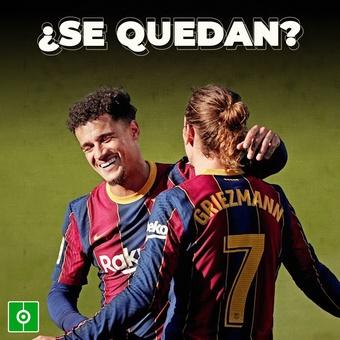 Cambio de planes con Griezmann y Coutinho, 01/08/2021
