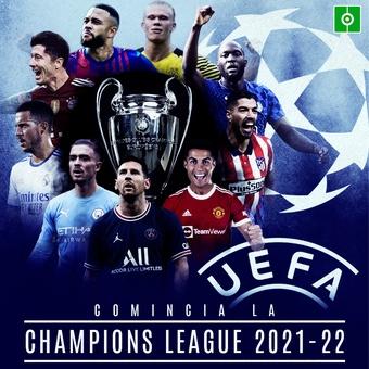 COMINCIA LA CHAMPIONS LEAGUE 2021-22, 14/09/2021
