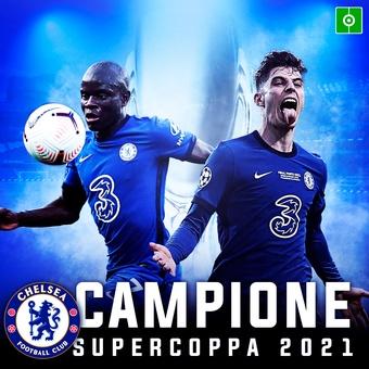 Chelsea Campione supercoppa 2021, 12/08/2021