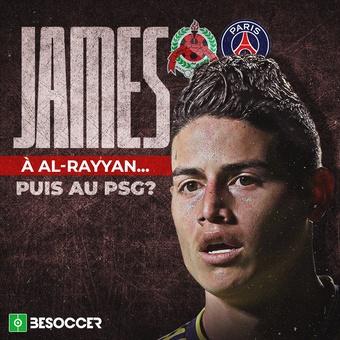 James, al Al-Rayyan... ¿y al PSG? francés, 23/09/2021