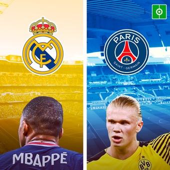 El PSG irá a por Haaland... si se va Mbappé, 03/10/2021