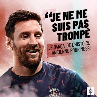 Francés Cita Messi Barcelona, 08/10/2021