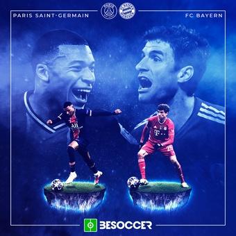 Previa UCL: PSG - Bayern, 13/04/2021