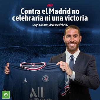 Frase Ramos sobre el Madrid, 14/07/2021