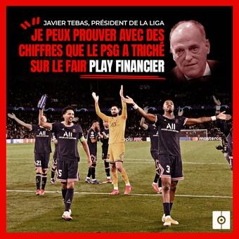 Francés Cita Tebas sobre el PSG, 08/10/2021