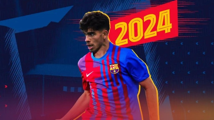 Abdessamad Ezzalzouli é o novo jogador azulgrana. FCBarcelonaB