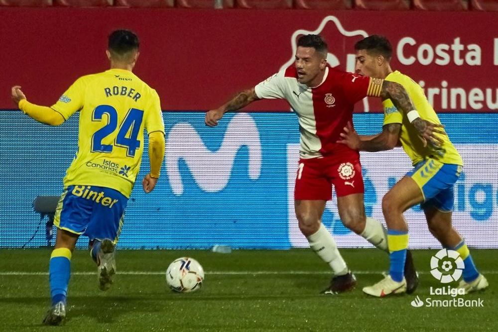 Aday Benítez se despidió el sábado del Girona. LaLiga