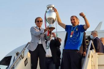 Para Sandro Wagner, Chiellini debería llevarse el trofeo. AFP
