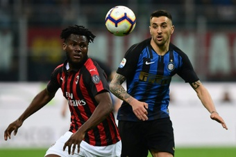 Franck Kessié no piensa en su continuidad en el Milan. AFP