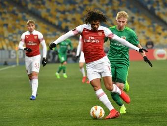 Elneny could leave Arsenal. AFP