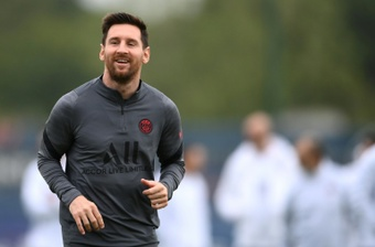 A confissão de Messi a Cesc. AFP