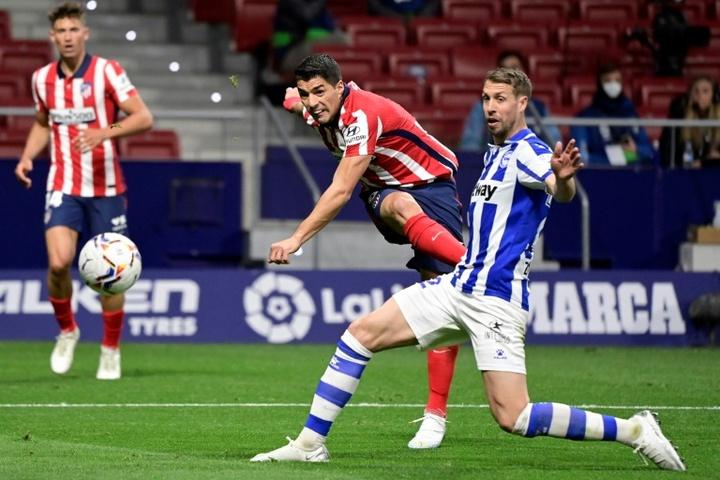 Le quadruplé de Luis Suárez contre VVV-Venlo. AFP