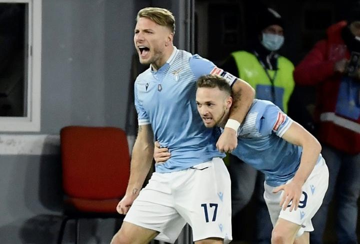 La Lazio sueña con conquistar el título europeo. AFP