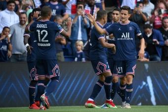 PSG venceu o Clermont por 4 a 0 em casa. AFP