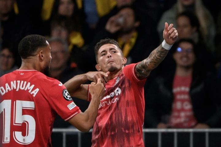 El Villarreal ha sufrido de lo lindo para sumar este triunfo. AFP