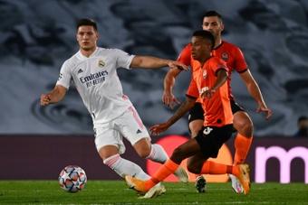 Jovic, toujours dans le viseur de l'Inter Milan. afp