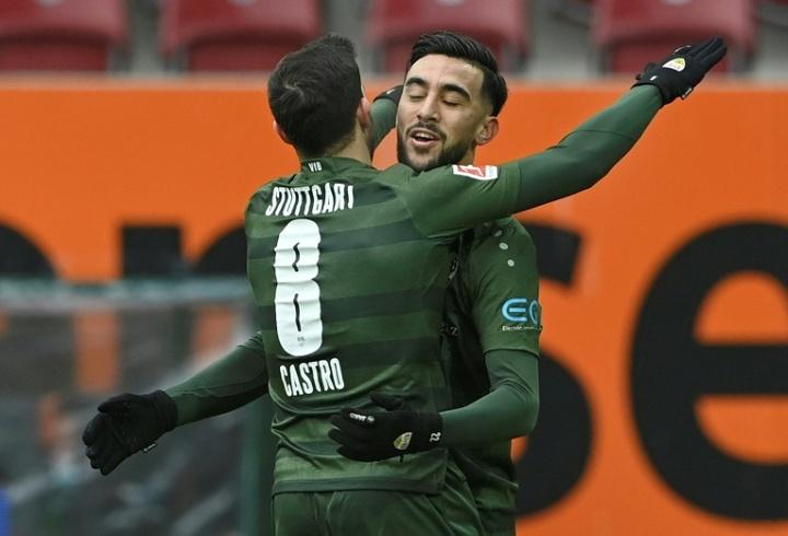 Nicolás González, en el radar del Tottenham. AFP