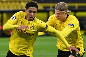 El Borussia quiere mantener lejos a las 'novias' de Bellingham. AFP