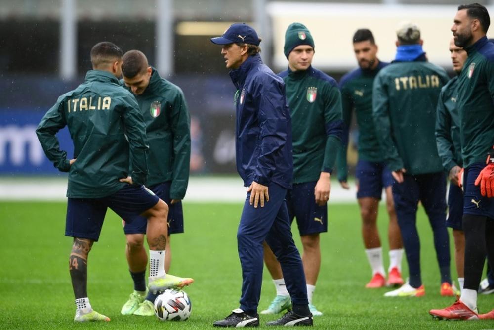 Ultim'ora del calcio italiano in data 5 ottobre 2021. AFP