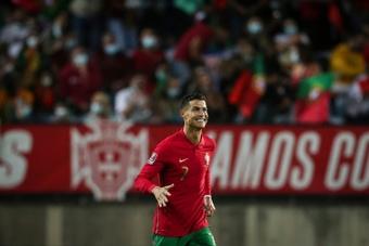 Quando Cristiano convenceu um compatriota a não desistir do futebol. AFP