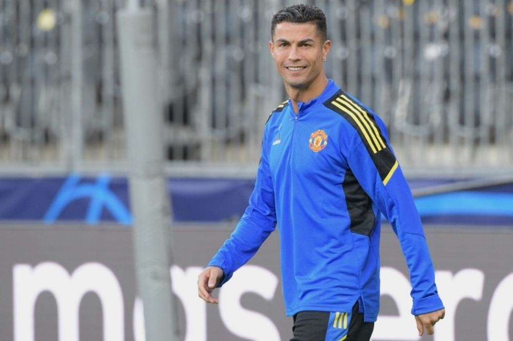 Ronaldo añadió su comida favorita al menú del United. AFP