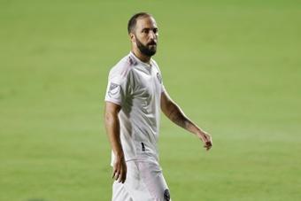 Higuaín repasó su carrera y recordó su paso por el Madrid. AFP