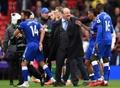 Rafa Benítez y cómo bañar de oro el Goodison Park. AFP