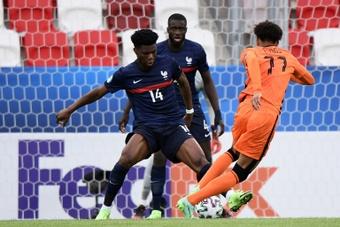 Tchouaméni évoque sa convocation avec l'équipe de France. AFP