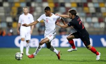 Southgate pierde a Rashford ante San Marino. AFP