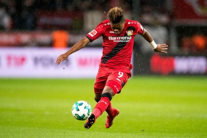 El Bayer Leverkusen rechaza 28 millones del Villa por Bailey. AFP