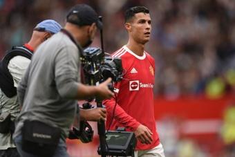 Cristiano foi o nome do jogo contra o Newcastle. AFP