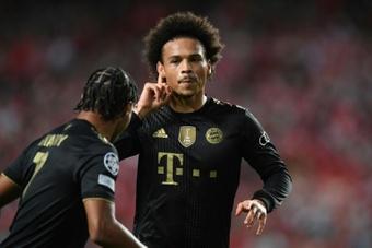 El Bayern venció 0-4 al Benfica. AFP
