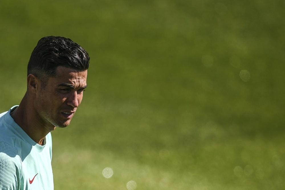 A Itália sente a falta de Cristiano. AFP