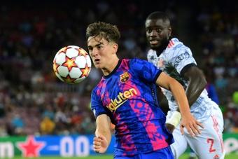 Le Barça prépare déjà la prolongation de Gavi. AFP