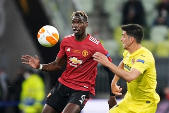Pogba will remain at Old Trafford for the whole of the 2021-22 campaign. AFP