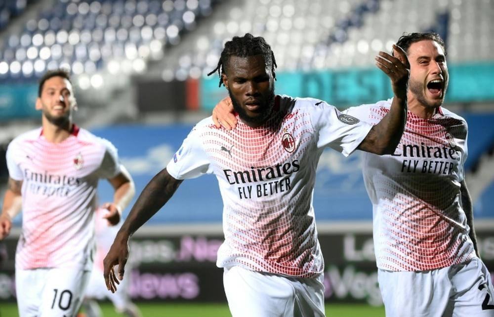 Kessié suena para jugar en la Liga Española. AFP