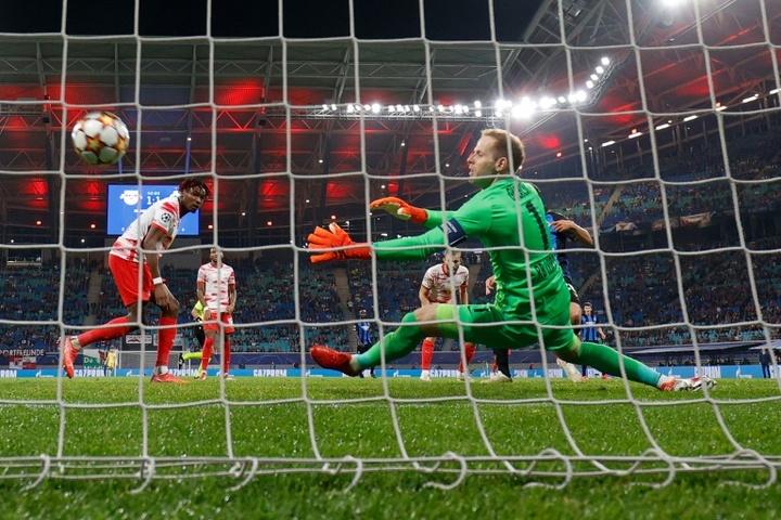 Brugge mostra força e bate o RB Leipzig fora de casa. AFP